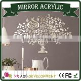 High Quality Professional Custom cornice mirror mirror wall sticker Mirror stainless steel sheet