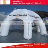 2016 China inflatable stage tent inflatable spider dome inflatable tent for car shelter show
