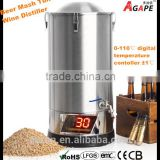 30L MASH TUN, HOME BREWING EQUIPMENT, MINI BEER BREWING MACHINE, 30L WINE DISTILLER