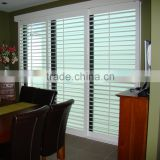 Wholesale cheap china custom white window and door blinds,external blinds,door glass inserts blinds