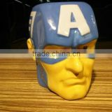 New Arrival Cartoon Mug Avengers Union Iron Man Thor The Hulk Captain America Creative Ceramic Cup MUG For Gift