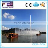 Trade Assurance Outdoor Decorative Fountains Modern Central High Jet Spray Water Fountain For Decoration