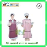 (MSLLA01) Cheap Price of Lead Free Apron/Medical Radiation Protective Clothing/anti radiation suit) radiation proof suit