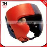Custom Leather Boxing Helmet/Head Guard/Boxing Headgear MMA Head