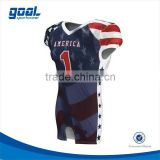 Custom blank durable create your own jersey for american football                                                                         Quality Choice