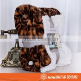 Professional factory supply 100% polyester polar fleece printed blanket                                                                         Quality Choice