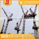 Building Construction site generally using Model QTZ80 tower cranes                                                                         Quality Choice