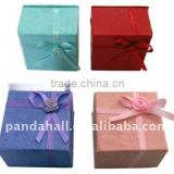 2014 Cardboard Jewelry Ring Box, Mixed Color(BC001M)