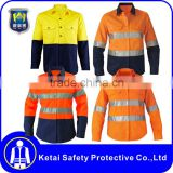 high visibility safety orange softtextile polo t shirt for sale                                                                                                         Supplier's Choice
