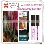 Wholesale salon hair care products hair dye one time hair color spray natural hair dyeing