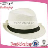 wholesale panama paper straw hats and fedora straw hats with custom ribbon                                                                         Quality Choice