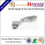 China die casting service hospital medical equipment parts aluminum die casting Extended Brake Pedal for motorycle