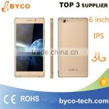 Customized Mobile phone/phone manufacturer in shenzhen/cheap 6 inch android 5.1 smartphone