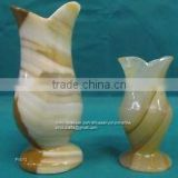 Light Green Onyx Vase FV012