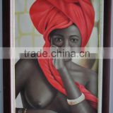 nude sexy girl oil painting canvas 100% handmade
