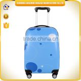 cheap import products trolley luggage ABS printing set China wholesale trolley travel bag