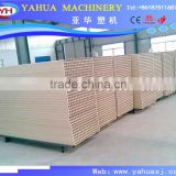 pvc profile extrusion machine for window door profile trunking/upvc profile extrusion line