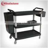 Multifunction 3 layers Plastic Service Catering Carts/Food service Trolley/ Bathroom service carts