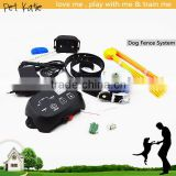 Smart Wire In Ground Pet Fences with Waterproof Dog Shock Training Collar