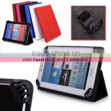 Sky Blue Universal Book Style Cover Case with Built-in Stand [Accord Series] for Toshiba 7 inch Thrive Tablet