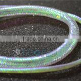 Mylar Holographic Tinsel Flat Braid Fly Tying Tinsel Chenille Crystal Flash Line fly tying material