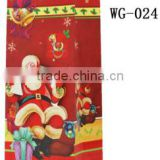 2015 best selling products red fancy christmas packaging wine paper bag with ribbon handle supplier and manufacture