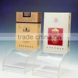 hot sale countertop acrylic electric cigarette display stand