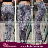 SQ8079 New style low waist sexy skinny pants legging women winter fashion legging leopard print sexy legging