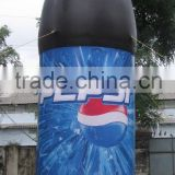 20' Promotion inflatable pepsi bottle /advertising balloon F1068