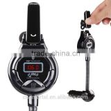 Bluetooth FM Transmitter Car Kit with 3.5mm Audio jack and USB Car Charger compatible with iPhone, iPad, Samsung