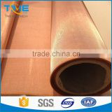 2016 Hot Sale Copper Mesh Fabric, Copper Wire Mesh