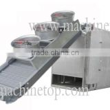 Straight Blowing Type Conveyor Dryer/The most advanced/professional direct blowing diced onion/banana chips dryer