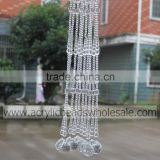 New Style Home Decor Acrylic Crystal Round Faceted and Quared Bead Curtains for Room Divider