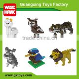 Wisehawk connection building block animal series smart diy toys set