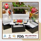 Latest made in China japanese sushi tray, factory cheap food sushi packaging box