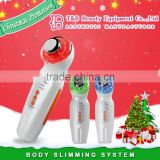 Multifuncational 3mhz ultrasonic facial skin scraper beauty machine for sale