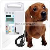 CE certified Veterinary portable Multi-function Vet Infusion Pump Memory function for animal