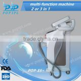 ipl rf shr rf nd yag laser multifunction machine 3or 4in1 laser machine Hair Removal+laser Removal Tattoo ipl rf ipl spare part