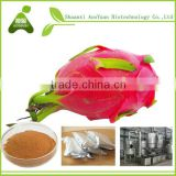 pitaya extract powder , Vietnam fresh dragon fruit (Pitahaya) - White flesh, Red flesh