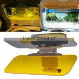 Kawachi HD Car Anti-Glare Dazzling Goggle Day & Night Vision Driving Mirror Sun Visors