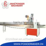 Horizontal ice water bag machine