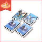 JL-006N Yiwu Jinlin Hot sale Metal Cigarette Box Sticker with Gradient Images Wholesaler