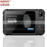 IP65 7 inch touch screen wifi gps 3g nfc rfid fingerprint reader barcode scanner reader rugged tablet