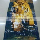 animal design weighted beach towel 33152