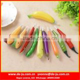 Realistic Fruit Vegetables Vitamin Ball Pen