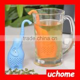 UCHOME Chinese Tea Making Popular Heat-Resistant Silicone Tea Cup Strainer For Promotion Gifts