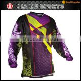 Mens brand outdoor sports cycling clothing high quality custom long sleeve mountain bike jersey