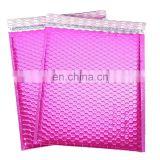 Wholesale Customized Colored Metallic Pink Bubble Foam Padded Envelope
