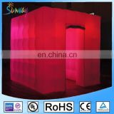 Changing Colors Inflatable Tent With LED Light Photo Booth With A Remote Controller