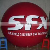 red Inflatable PVC balloon/helium balloon/promotional balloon/ PVC advertising balloon/helium cube/sphere/event ball/blimp